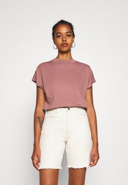 Weekday - PRIME - Camiseta básica - brown/purple