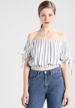 Superdry - AMIEE - Bluse - white/blue