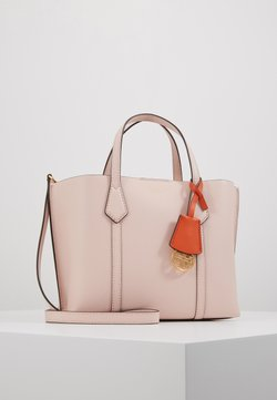 Tory Burch - PERRY SMALL TRIPLE COMPARTMENT TOTE - Torebka - shell pink