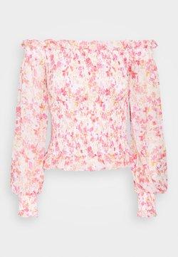 Forever New - TULIA SHIRRED BARDOT - Bluse - strawberry fields
