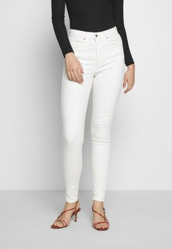 Topshop Tall - JAMIE CLEAN - Jeans Skinny Fit - white