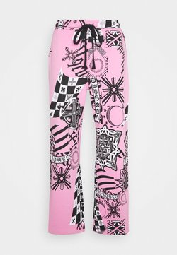 Jaded London - COLLAGE JOGGERS - Jogginghose - pink