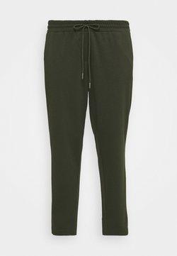 MY TRUE ME TOM TAILOR - LOOSE FIT PANTS - Jogginghose - rosin green