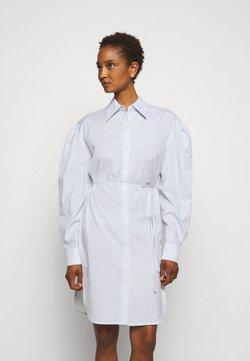 DESIGNERS REMIX - UMBRIA DRESS - Blusenkleid - cream/blue