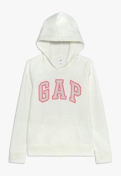 GAP - GIRLS ACTIVE LOGO HOOD - Kapuzenpullover - new off white