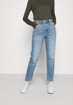 American Eagle - MOM JEANS - Jeans Slim Fit - washed blue