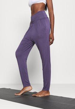 Deha - PANTS - Träningsbyxor - violet