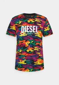 Diesel - PRIDE UNISEX - T-shirt con stampa - multi coloured