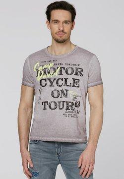 Camp David - MIT VINTAGE- UND PUFF-PRINT - T-Shirt print - shadow
