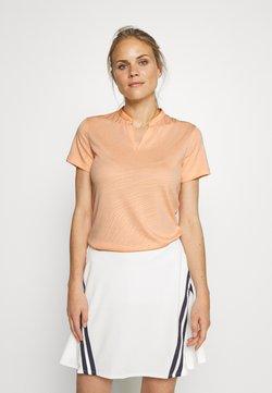 Nike Golf - BREATH FAREWAY - T-Shirt print - sunset haze/orange trance