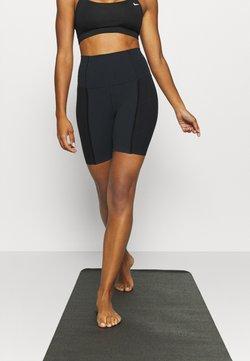 Nike Performance - YOGA SHORT - Tights - black