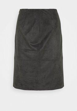 s.Oliver BLACK LABEL - A-line skirt - grey