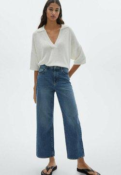 Massimo Dutti - Jeans a zampa - dark blue