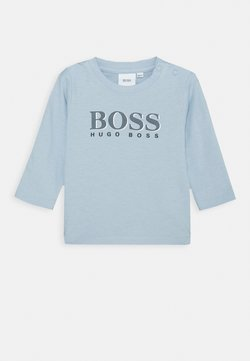 BOSS Kidswear - LONG SLEEVE BABY - Longsleeve - pale blue
