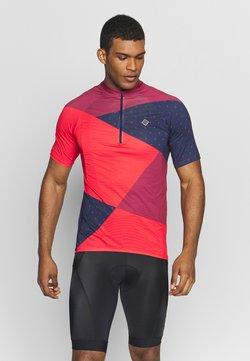 Triple2 - MEN - T-Shirt print - beet red