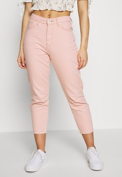 Noisy May Petite - NMISABEL MOM - Straight leg jeans - pink