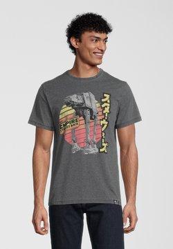 Re:Covered - STAR WARS EMPIRE STRIKES BACK RETRO AT-AT - T-Shirt print - grau