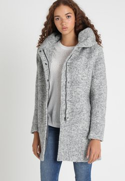 ONLY - ONLSEDONA COAT - Abrigo corto - light grey melange