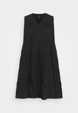 Vero Moda Curve - VMLORETTA DRESS - Kjole - black