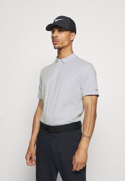 Nike Golf - DRY PLAYER - Funktionsshirt - white/sky grey/brushed silver