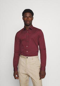 Calvin Klein Tailored - LOGO STRETCH EXTRA SLIM - Businesshemd - tawny port