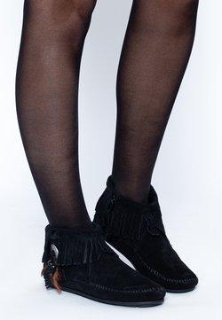Minnetonka - CONCHO FEATHER - Stiefelette - black