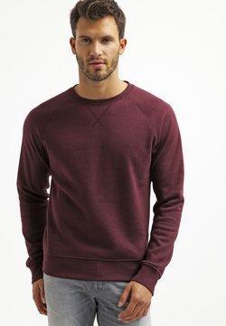 Pier One - Sweatshirt - bordeaux melange