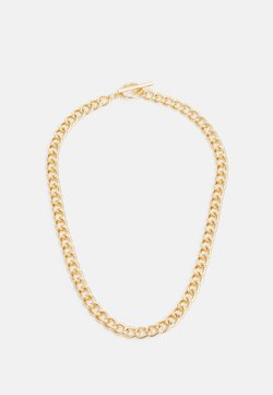 Topshop - CHAIN BAR - Collier - gold-coloured