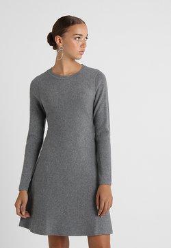 Vero Moda - VMNANCY DRESS - Vestido de punto - medium grey melange