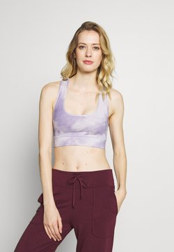 Hey Honey - BRA TIE DYE - Sujetador deportivo - purple