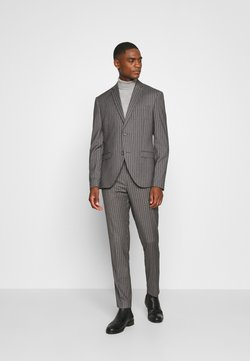 Isaac Dewhirst - BOLD STRIPE SUIT - Costume - grey