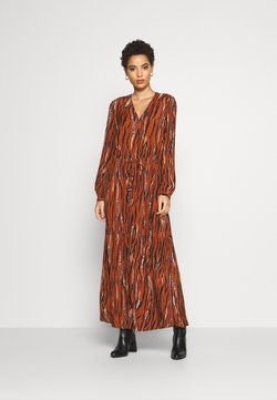 Freequent - Maxi-jurk - brown