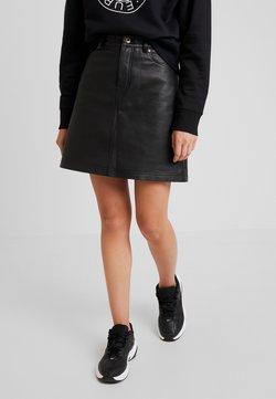 Tiger of Sweden Jeans - MONROE - A-line skirt - black
