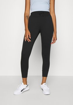 Even&Odd - High Waist Lightweight Slim Jogger - Jogginghose - black