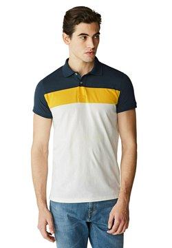 McGregor - Poloshirt - white yellow blue