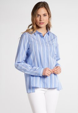 Eterna - Hemdbluse - light blue / white