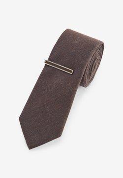 Next - Krawatte - brown