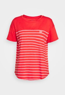 GAP - MEMORIAL DAY TEE - T-Shirt print - coral frost