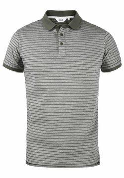 Solid - Poloshirt - med grey melange