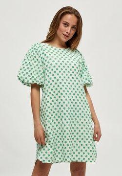 Minus - Freizeitkleid - green embroidery