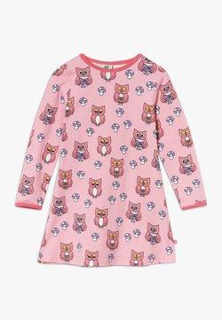 Småfolk - DRESS OWL - Jerseykleid - sea pink