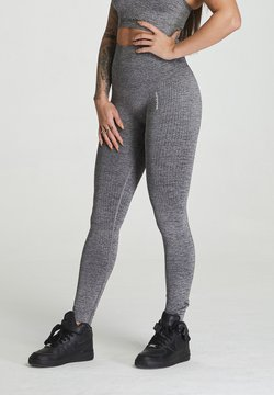 carpatree - SEAMLESS LEGGINGS MODEL ONE - Trikoot - grey