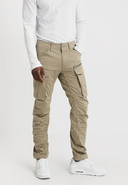 G-Star - ROVIC ZIP 3D STRAIGHT TAPERED - Cargo trousers - dune