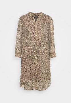 Selected Femme Petite - SLFDAMINA ANNI DRESS  - Vestido informal - tannin