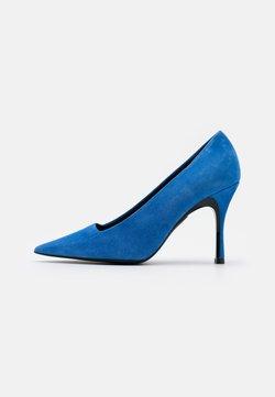 Furla - CODE DECOLLETE' T - High Heel Pumps - bluette/nero