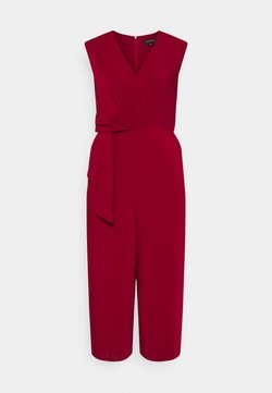 comma - Jumpsuit - deep red