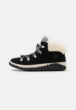 Sorel - YOUTH OUT N ABOUT CONQUEST UNISEX - Schnürstiefelette - black