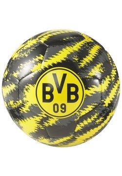 Puma - BVB ICONIC BIG CAT - Voetbal - black-cyber yellow