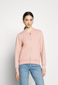 ONLY - ONLMYNTHE JOYCE - Zip-up hoodie - misty rose