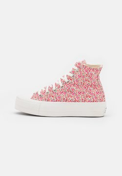 Converse - CHUCK TAYLOR ALL STAR LIFT - Baskets montantes - vintage white/university red/egret